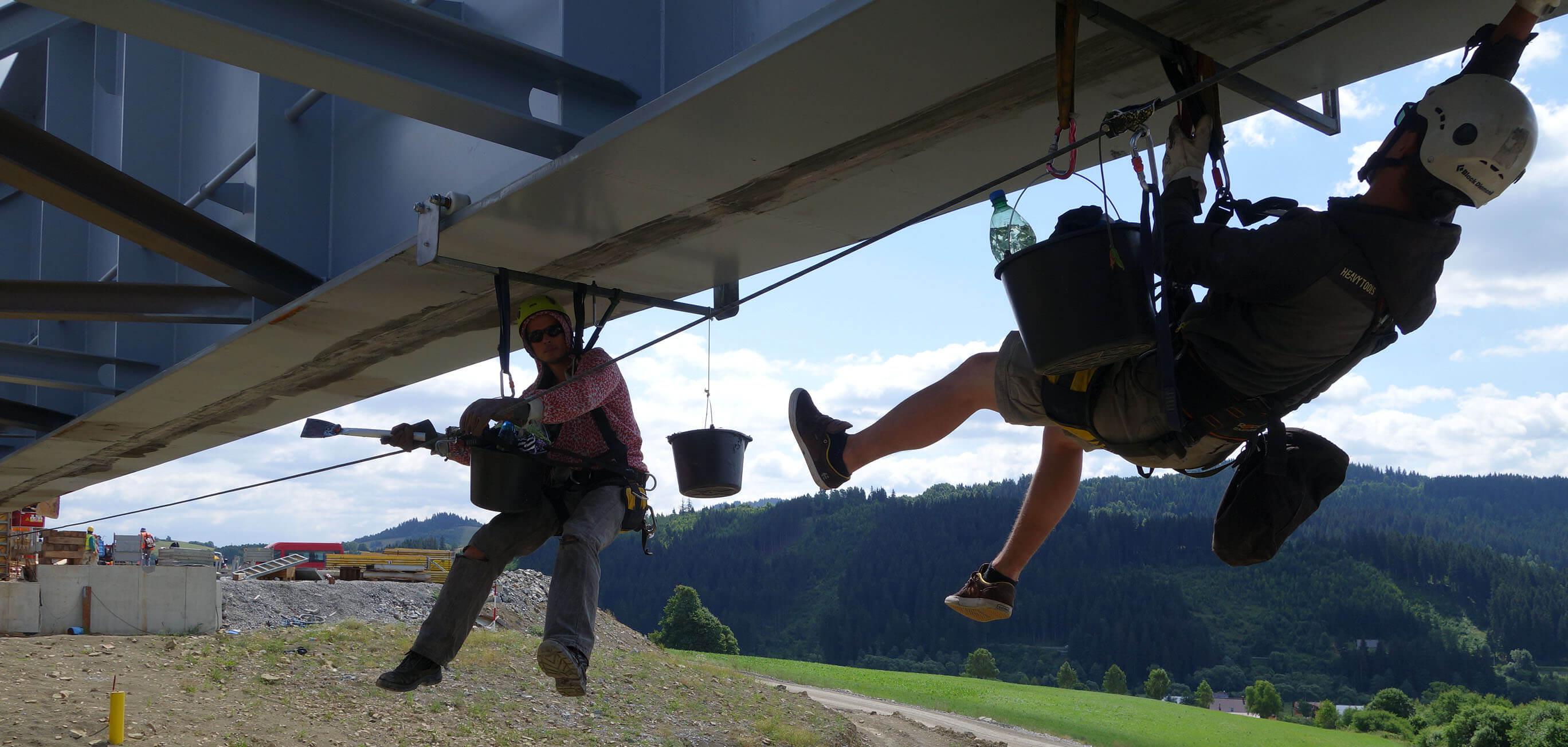 Špecialisti na práce vo výškach - Highmont.sk